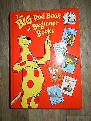 The Big Red Book of Beginner Books - Hardcover - Dr. Seuss
