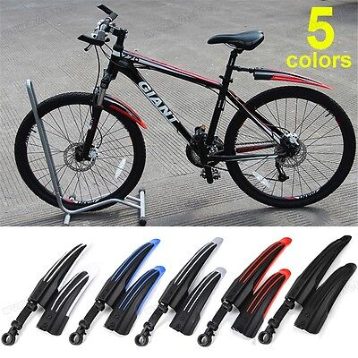 Front/Rear Mud Guards Mudguard Fenders Mountain Road For Bicycle Bike Cycling UK