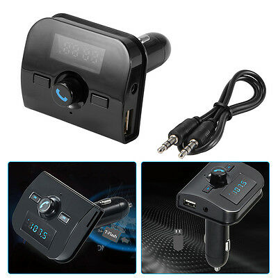 Car Kit Handsfree Wireless Bluetooth FM Transmitter MP3 Player Charger MA1156