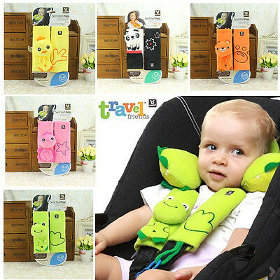 Baby Car Seat Stroller Shoulder Pad Belt Strap Cover Holder Protector Cushion