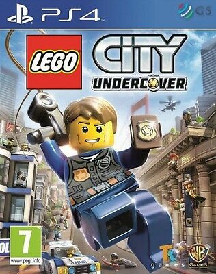 LEGO City Undercover PS4 * NEW SEALED PAL *