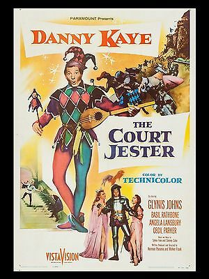 """The Court Jester 16"""" x 12"""" Reproduction Movie Poster Photograph 2"""