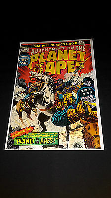 Adventures on the Planet of the Apes #1 - Marvel Comics - October 1975 1st Print