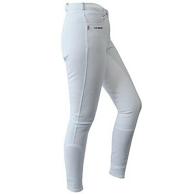 "Ladies John Whitaker Horbury White Breeches Size 10 (28"" Waist)"
