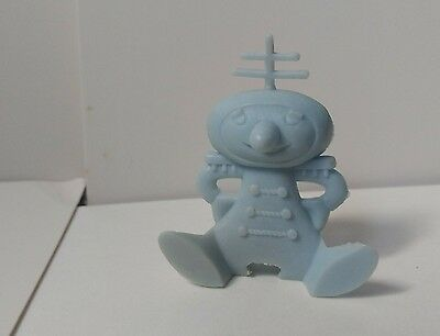 Nabisco collectable blue Spoonman 1950's era cereal toy