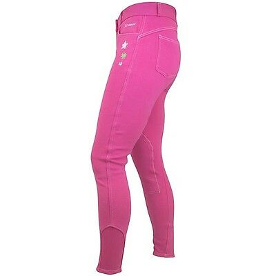 John Whitaker Child's Calder Pink Breeches Size  7-8 Years