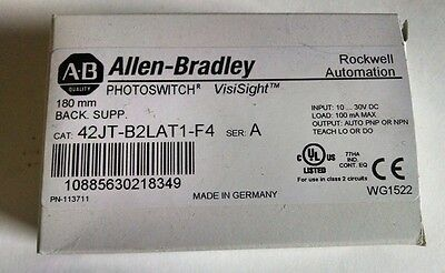 Allen Bradley 42JT-B2LAT1-F4 Photoelectric Sensor - ** NEW IN BOX **
