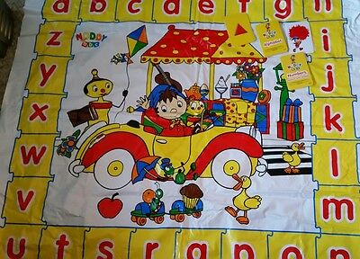 Noddy play mat and flashcards