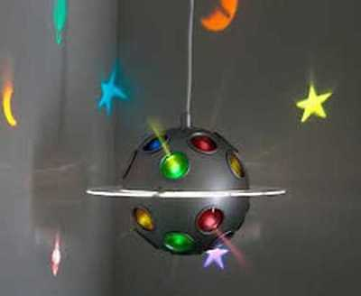 IKEA Lamp Stars-Planets-Moon-Discontinued-07-Childs-Pendant Lamp Light NEW RARE