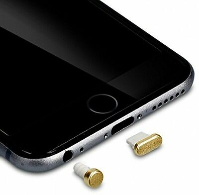 Kwmobile Anti-dust Protection Set For Apple IPhone 6 / 6 Plus In Gold - Protect
