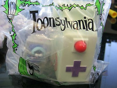 Burger King Kid's Club Toy- Dream Works 1998: Toonsylvania Ambulance