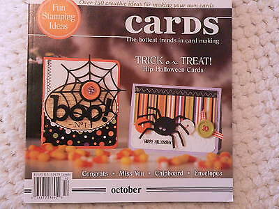 """""""CARDS"""" card making magizine book vol 3 issue10"""