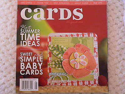 """""""CARDS"""" card making magizine book vol 5 issue 8"""