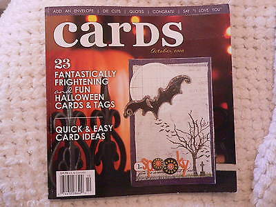 """""""CARDS"""" card making magizine book vol 5 issue 10"""