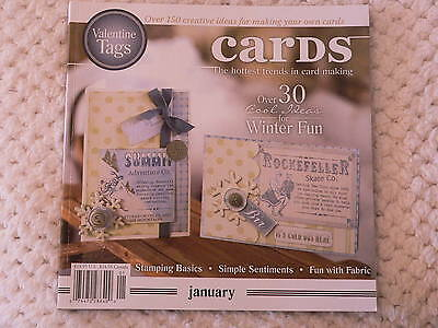"""""""CARDS"""" card making magizine book vol 3 issue 1"""