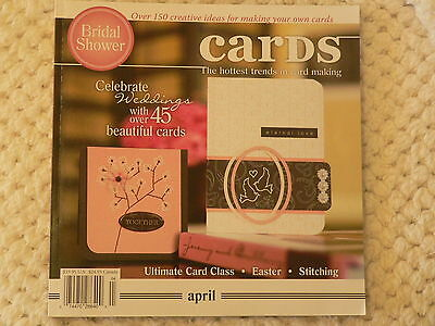 """""""CARDS"""" card making magizine book vol 3 issue 4"""