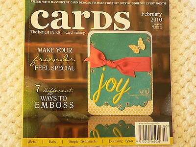 """""""CARDS"""" card making magizine book vol 1 issue 9"""