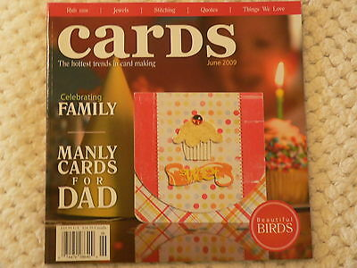 """""""CARDS"""" card making magizine book vol 4 issue 6"""