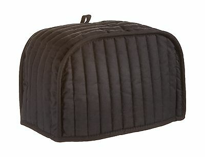 Ritz 01014 Quilted Two Slice Toaster Cover Black