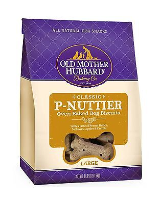 Old Mother Hubbard Classic Crunchy Natural Dog Treats P-Nuttier Large Biscuit...