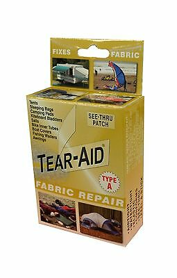 Tear-Aid Repair Patches Type A Fabric Kit Gold