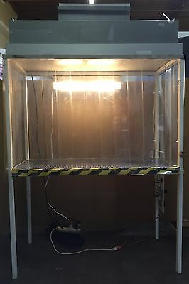 Small Portable Cleanroom w/Camfil Farr 855024052 Filter P5-23.62-47.62-4-03-00-1