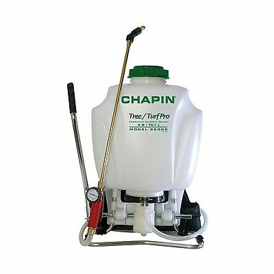 Chapin 62000 Tree/Turf 4-Gallon Pro Commercial Backpack Sprayer with Brass Wand