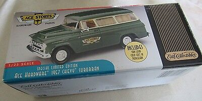 Ace Hardware 1957 Chevy Suburban 1/25 scale Special Limited Edition w/ Van Load