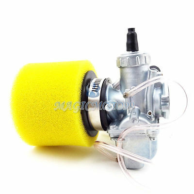 26mm Carburetor Air Filter 125cc 140cc 150cc KLX TTR CRF50 IMR SSR Pit Dirt Bike