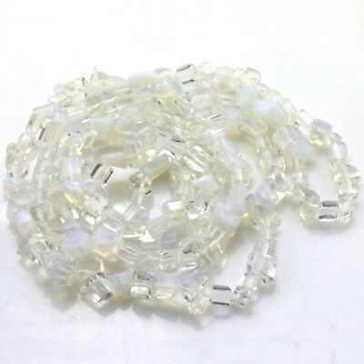 """Natural Precious Opals Freeform faceted Shape Beautiful Loose Beads Strand 33.5"""""""
