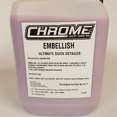 Chrome Cleaning Products 5 LTR Embellish