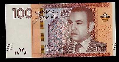 Morocco   100 Dirhams 2013   Pick # 76  Unc.