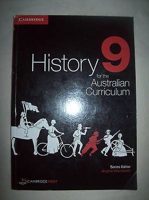 History 9 for the Australian Curriculum - Cambridge - Text book