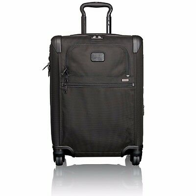 NEW Tumi 22061D2 Alpha 2 BLACK Carry on Luggage 4-wheeled expandable Contenental