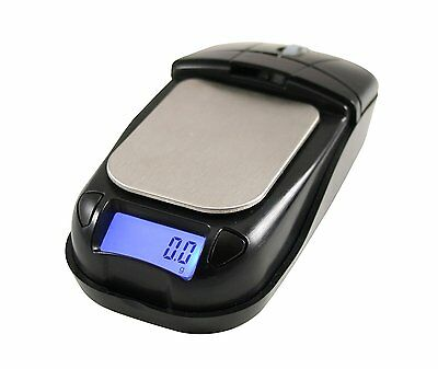 AWS American Weigh Scales Digital Computer Mouse Scales 650g by 0.1g (Black)