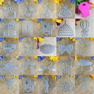 Cutte DIY Cutting Dies Stencils Scrapbooking Cards Album Paper Embossing Craft