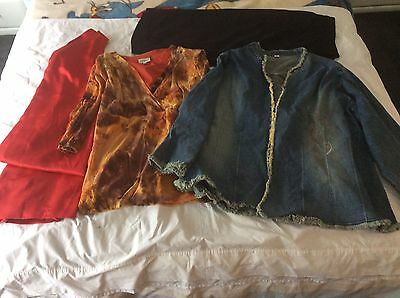 Size 24 ladies womens mixed  clothing x4 items
