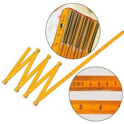1M 2M WOOD FOLDING RULER Long Quality Builder/Carpenter Tape Measure Tool Z