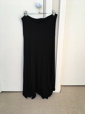 Pea In A Pod Maternity Black Skirt Size 10