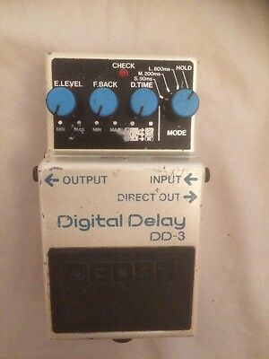 Boss DD-3 Digital Delay Guitar Effects Pedal in Used Working Condition, RRP £115
