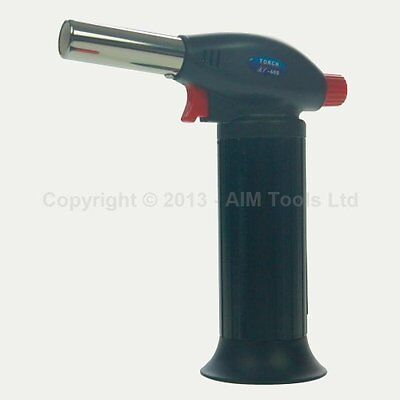 Mini Gas Paint Remover Soldering Iron Blow Heating Torch Gun Refillable 324108