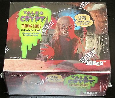 Tales From The Crypt Sealed Box Trading Cards 36 Packs Premiums Cardz