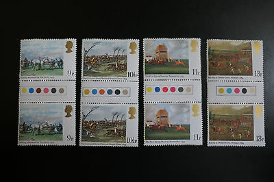 Uk Stamps - 1979 - Horses The Derby  Gutter Pairs  Unmounted Mint