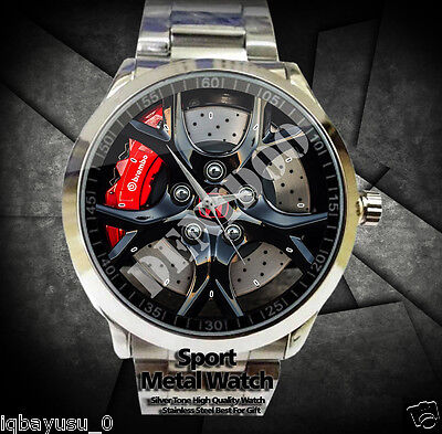 Honda Civic Type R Car Rims sport metal watch Limited
