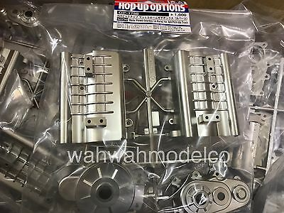 Tamiya 54750 RC High Lift Chassis Matte Plated A Parts(GearBox)Tundra/Hilux/F350