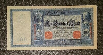 Banconota Germania 100 Mark 1910