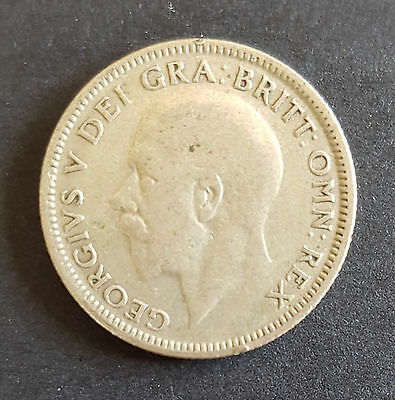 1927 UK Silver Coin One Shilling George V