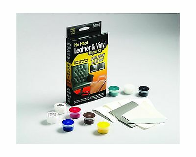 ReStor-It Leather/Vinyl Repair Kit Includes 7 1.8-Ounce Colors with Mixing Gu...
