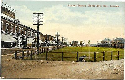 1029 STATION SQUARE NORTH BAY ONT CANADA UNPOSTED c1910