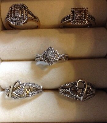 sterling silver ring lot Not Scrap